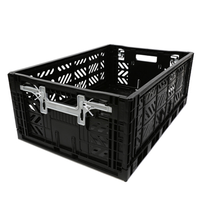 폴딩박스 아이까사 ay-kasa Folding Box Large Black_Active Lock 22cm (손잡이)