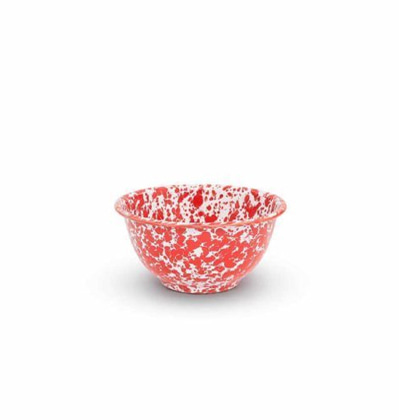 크로우캐년홈 요거트 보울 CrowCanyonHome Yogurt Bowl Red Marble