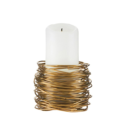 캔들홀더 하우스 닥터 House doctor Tealight holder twister brass