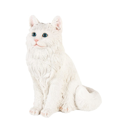 &KLEVERING Coinbank Cat White 엔클레버링 고양이 저금통