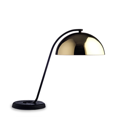 헤이 클로슈 테이블 조명 HAY Wrong.london Cloche table Lamp, Brass