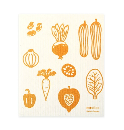 스웨덴 행주 Ecobridge Vegetable Dishcloth