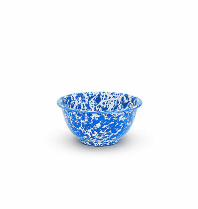 크로우캐년홈 요거트 보울 CrowCanyonHome Yogurt Bowl Blue Marble