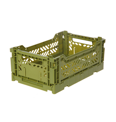 폴딩박스 아이까사 ay-kasa Folding Box Small Olive