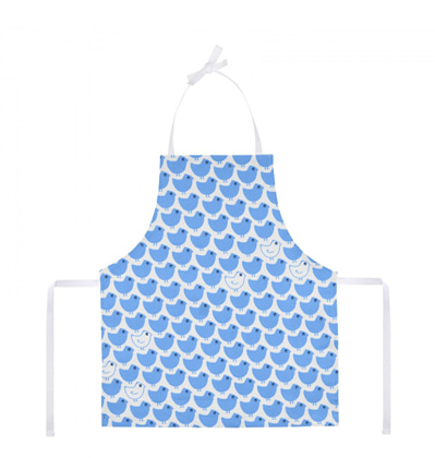 La cocotte Child's Apron Blue minipoussin 라꼬꼬뜨 파리 어린이 앞치마