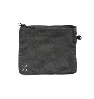 Ecobridge Share Pouch Large Grey 에코브릿지 쉐어 파우치
