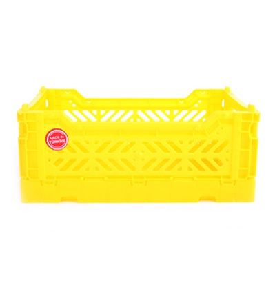 폴딩박스 아이까사 ay-kasa Folding Box Small Yellow