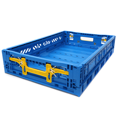 폴딩박스 아이까사 ay-kasa Folding Box Large Blue_Active Lock 11.7cm (손잡이)