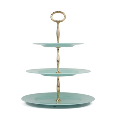 더리빙팩토리 케잌접시 The Living Factory Retro Cake Stand Mint