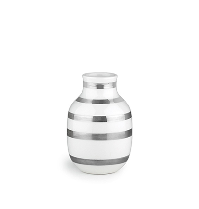 Kahler Omaggio Vase Silver H125 케흘러 오마지오 베이스