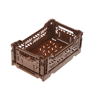 폴딩박스 아이까사 ay-kasa Folding Box Small Brown