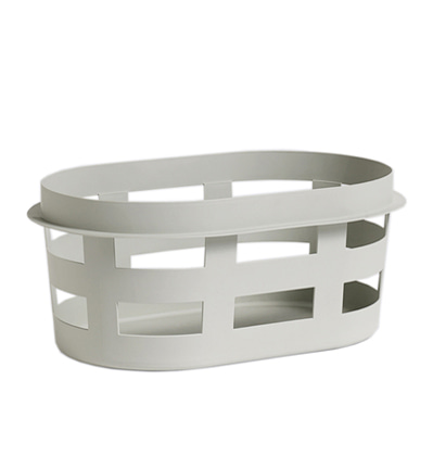 헤이 런드리 바스켓 HAY Laundry Basket Small, Light Grey