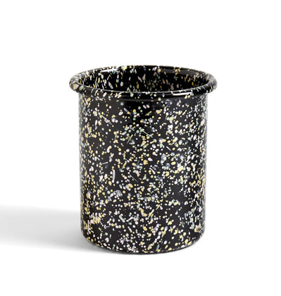 헤이 애나멜 홀더 블랙 HAY Enamel Utnesil Holder Sprinkle black