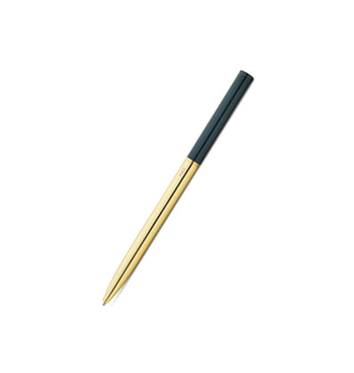 헤이 볼펜 HAY Pen Green+Gold