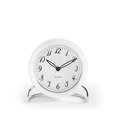 아르네 야콥센 LK 탁상시계 Arne Jacobsen Table Clock LK White