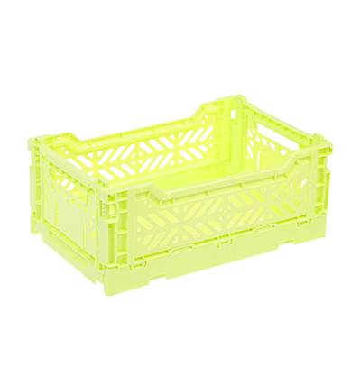 폴딩박스 아이까사 ay-kasa Folding Box Medium Lime