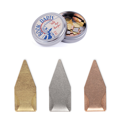 북다트 Book Darts 50 Count Tin Mixed