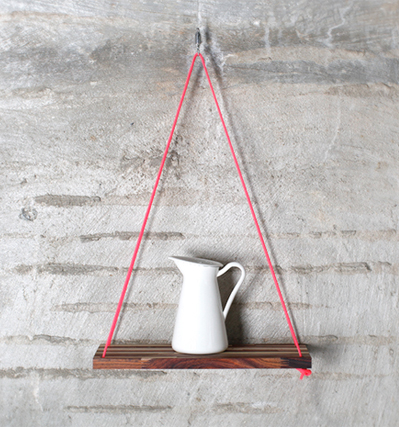 행잉선반 Hanging Shelf Rosewood