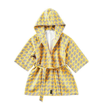 리틀스칸디 유아목욕가운 Little Scandi Bath Robe Golden Bird