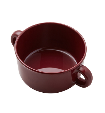 더리빙팩토리 스프 보울 Thelivingfactory Forest Soup Bowl Burgundy